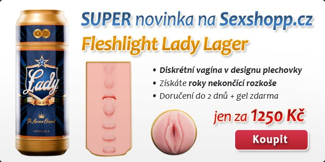 Fleshlight Lady Lager - d�rka v plechovce - sex in a can