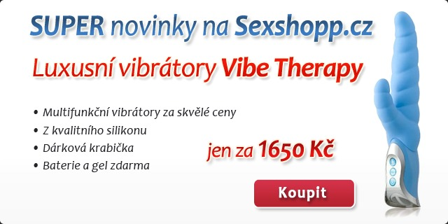 Vibe Therapy Regal - luxusn� vibr�tor