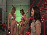 Perverzní lesbické setkání před zvědavou kamerou - freevideo