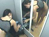 Skrytá kamera v dámský kabince - freevideo