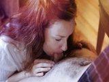 Cammile Crimson předvádí její bezchybnou felaci - freevideo