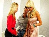 Švédská trojka s dvěma luxusními blondýnkami - freevideo