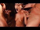 Luscious Lopez kmitá mezi dvěma čuráky - freevideo