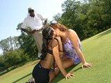 Golfová škola sexu přímo na hřišti - freevideo