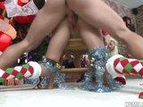 Veselé BDSM Vánoce v domácím duchu - freevideo