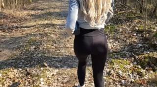 Nadržená holka v místním parku uspokojí své touhy - freevideo