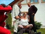 Česká svatba se zvrhne v nepřehlednou mrdačku - freevideo