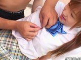 Domácí učitel prověří kundičku mladé chlupaté japonky - freevideo
