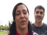 Hubená roztleskávačka je nadržená - freevideo