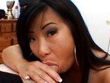 Tmavovláska exotického původu to má ráda na obličej - freevideo