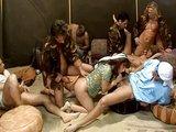 Zběsilé orgie ve vojnovým zajateckém táboru - freevideo
