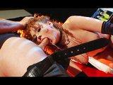 Luxusní zrzavá kurvička inkasuje sperma do tlamičky - freevideo